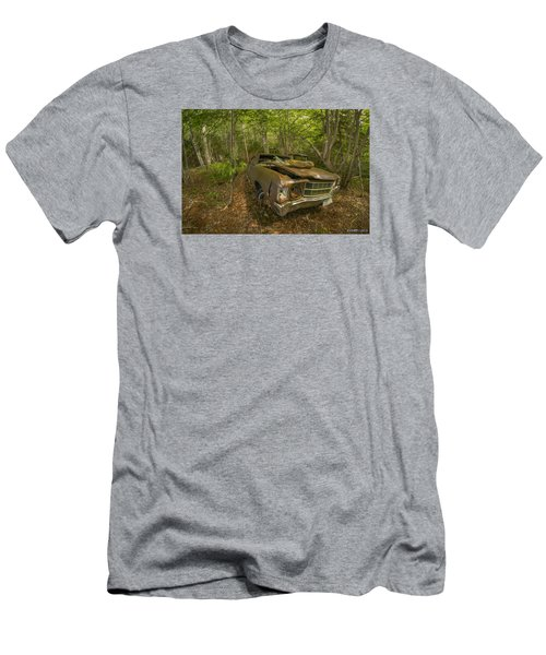 Abandoned Chevelle In Cape Breton Men's T-Shirt (Slim Fit) by Ken Morris