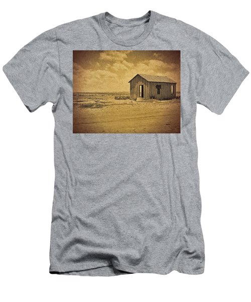 Abandoned Dust Bowl Home Men's T-Shirt (Athletic Fit)