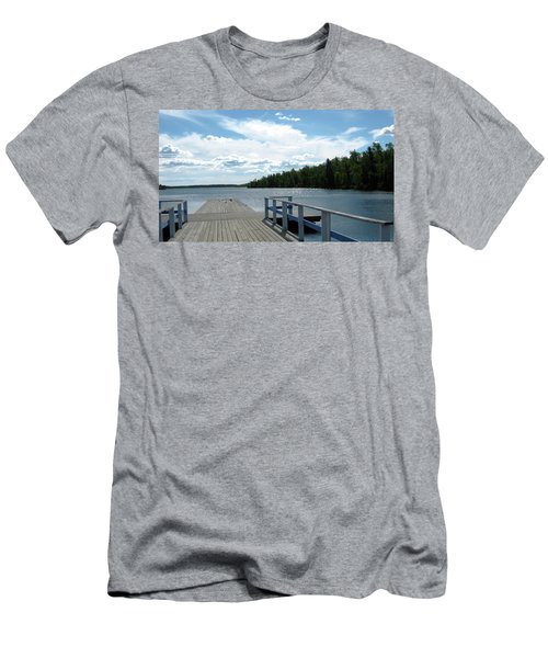 Abandoned Jetty Men's T-Shirt (Athletic Fit)