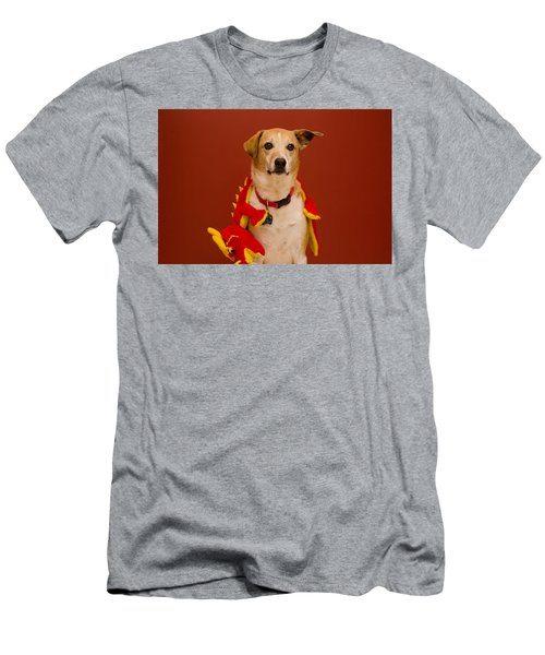 Abbie And Dragon Toy Men's T-Shirt (Athletic Fit)