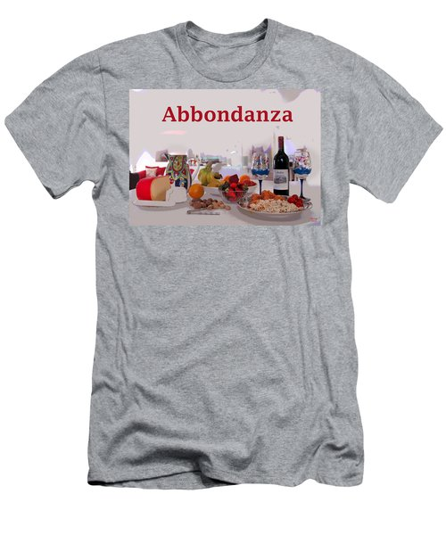 Abbondanza Men's T-Shirt (Slim Fit) by Charles Shoup