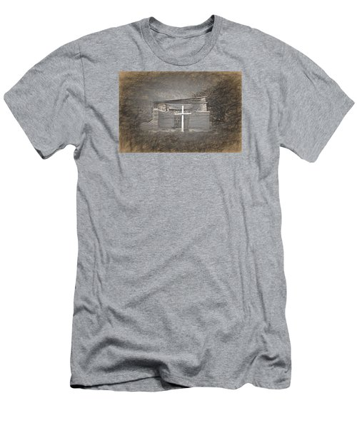 Abiquiu Nm Church Ruin Men's T-Shirt (Athletic Fit)