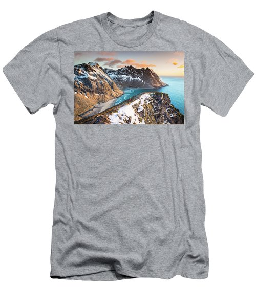 Above The Beach Men's T-Shirt (Slim Fit)