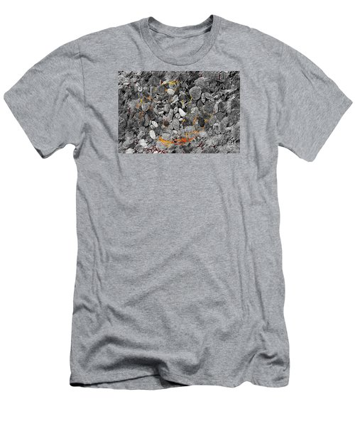 Men's T-Shirt (Slim Fit) featuring the digital art Absorption by Leo Symon