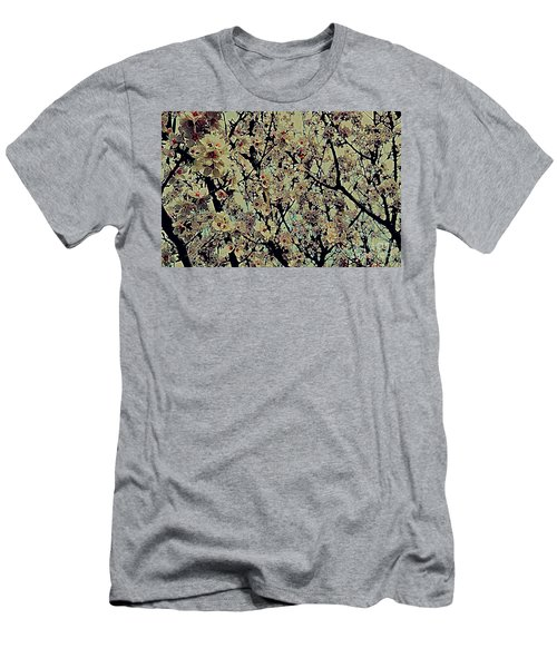 Abstract Blossoms Men's T-Shirt (Athletic Fit)