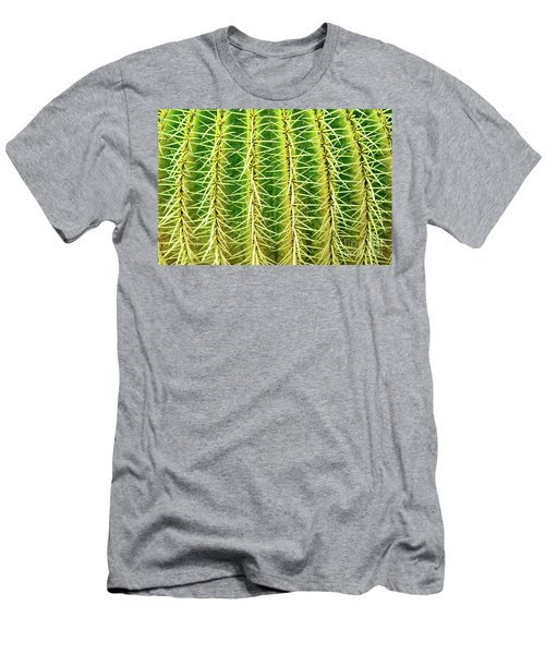 Abstract Cactus Men's T-Shirt (Athletic Fit)