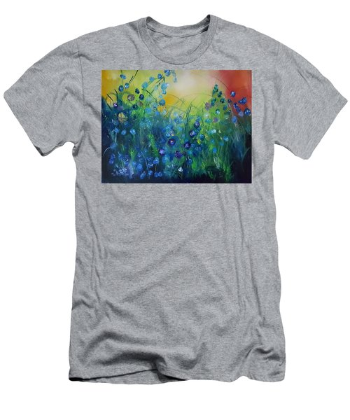 Abstract Flax           31 Men's T-Shirt (Athletic Fit)