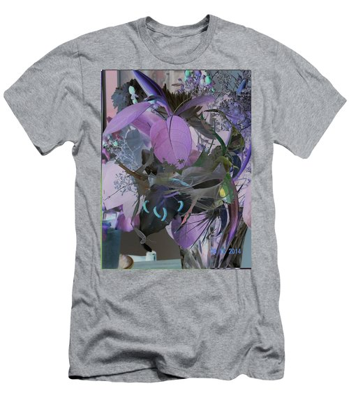 Abstract Flowers Of Light Series #12 Men's T-Shirt (Athletic Fit)