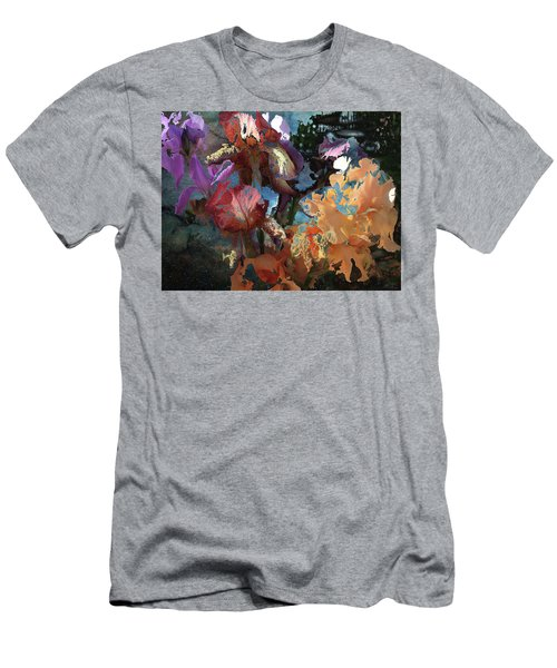 Abstract Flowers Of Light Series #15 Men's T-Shirt (Athletic Fit)