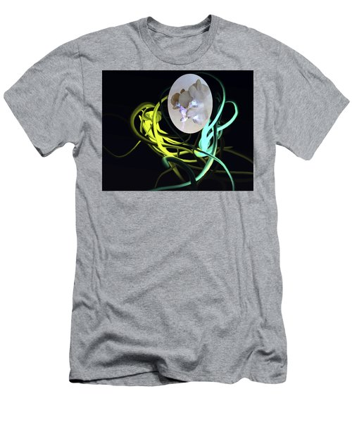 Abstract Flowers Of Light Series #6 Men's T-Shirt (Athletic Fit)