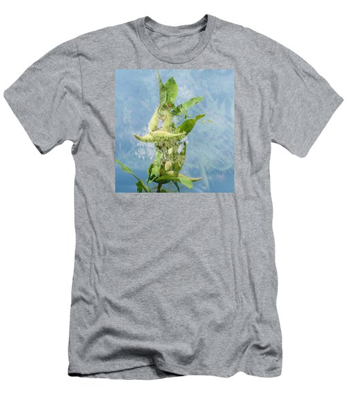 Abstract Milkweed Men's T-Shirt (Athletic Fit)