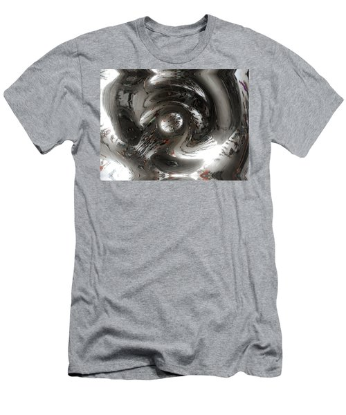 Abstract Underbelly Of The Bean, Chicago Il Men's T-Shirt (Athletic Fit)
