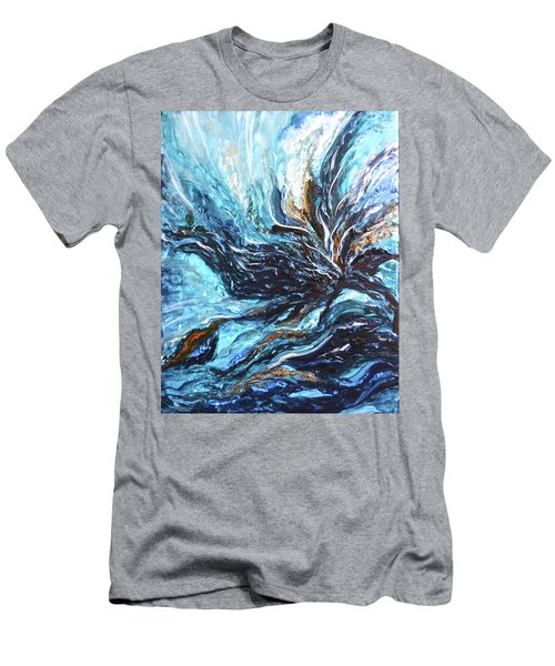 Abstract Water Dragon Men's T-Shirt (Athletic Fit)