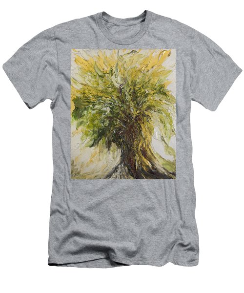 Abundance Tree Men's T-Shirt (Athletic Fit)