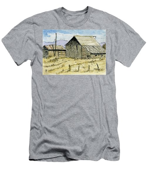 Aceo No 3 Two Barns Men's T-Shirt (Athletic Fit)