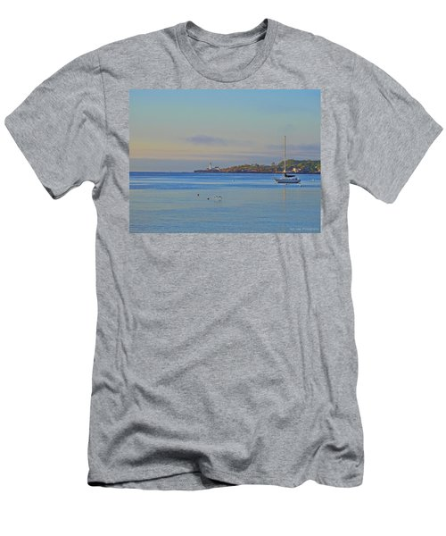 Across The Bay Men's T-Shirt (Athletic Fit)