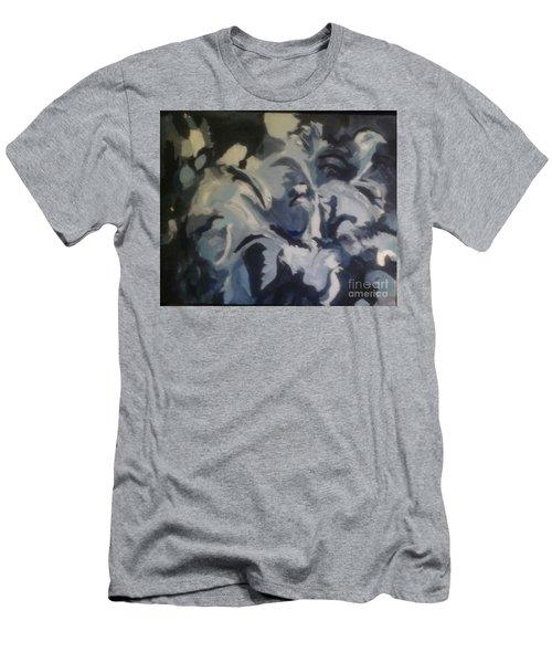 Acrylic Blues Men's T-Shirt (Athletic Fit)