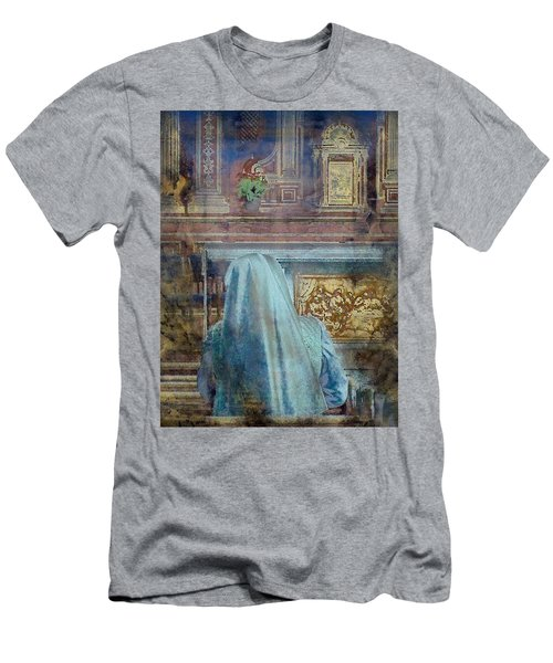 Adoration Chapel 3 Men's T-Shirt (Athletic Fit)