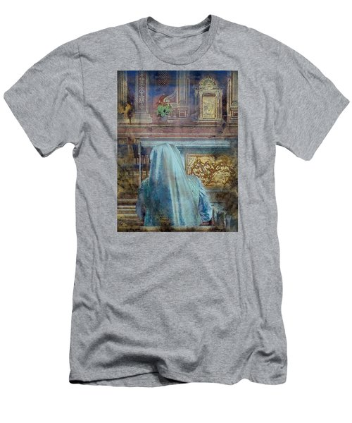 Men's T-Shirt (Athletic Fit) featuring the photograph Adoration Chapel 3 by Kate Word