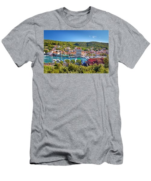 Adriatic Village Of Marina Near Trogir Men's T-Shirt (Athletic Fit)