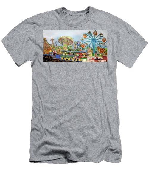 Adventureland Towel Version Men's T-Shirt (Athletic Fit)
