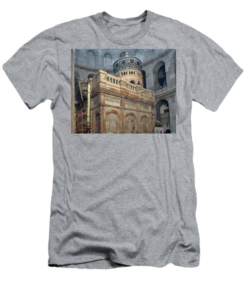 Aedicule Of The Holy Sepulchre Men's T-Shirt (Athletic Fit)