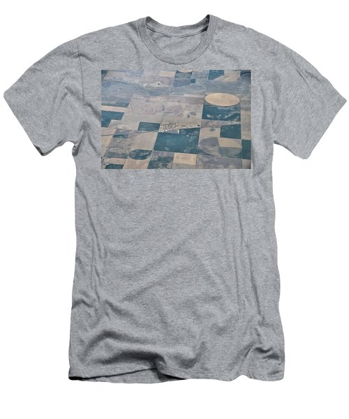Aerial 1 Men's T-Shirt (Slim Fit) by Steven Richman