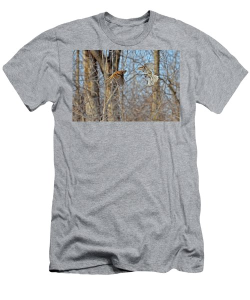 Aerial Battle Of The Forest Men's T-Shirt (Athletic Fit)