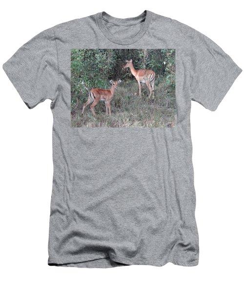 Africa - Animals In The Wild 2 Men's T-Shirt (Slim Fit) by Exploramum Exploramum