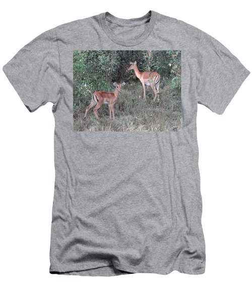 Africa - Animals In The Wild 2 Men's T-Shirt (Athletic Fit)