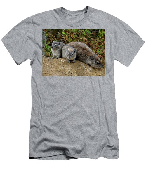 African Animals On Safari - A Child's View 4 Men's T-Shirt (Athletic Fit)