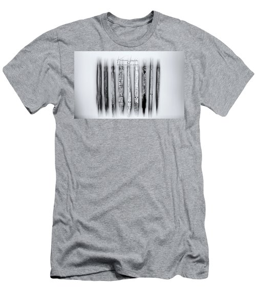 Men's T-Shirt (Slim Fit) featuring the photograph African Artefacts by Karen Lewis