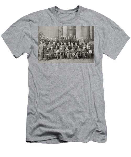 African Colonial Members Of The Closer Men's T-Shirt (Athletic Fit)