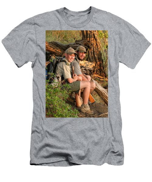 African Game Guides Men's T-Shirt (Athletic Fit)
