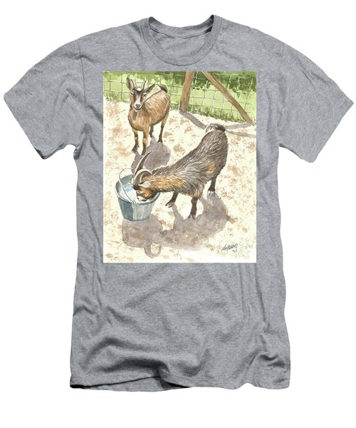African Goats Men's T-Shirt (Athletic Fit)