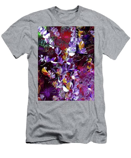 African Violet Awake #4 Men's T-Shirt (Athletic Fit)