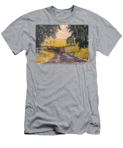 After Rain On The Wolds Way Men's T-Shirt (Athletic Fit)
