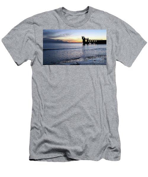 After Sunset Blackrock 1 Men's T-Shirt (Athletic Fit)