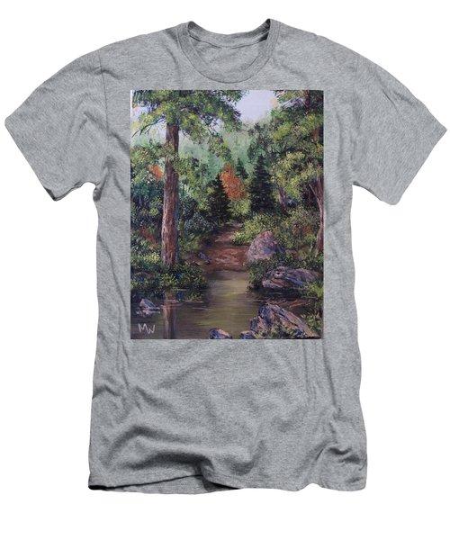 After The Rains Men's T-Shirt (Slim Fit) by Megan Walsh