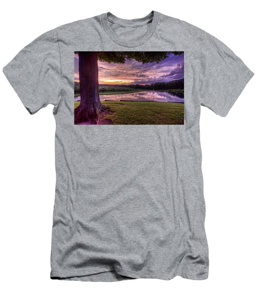 Men's T-Shirt (Slim Fit) featuring the photograph After The Storm At Mapleside Farms by Brent Durken