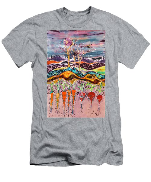 After The Thunderstorm Men's T-Shirt (Athletic Fit)