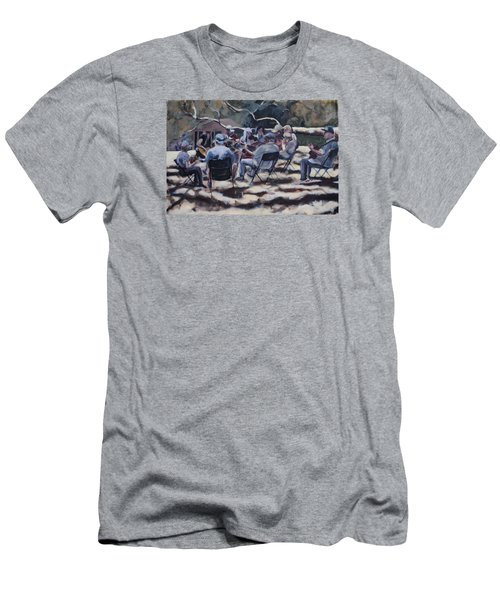 Afternoon Pickers Men's T-Shirt (Slim Fit) by Richard Willson