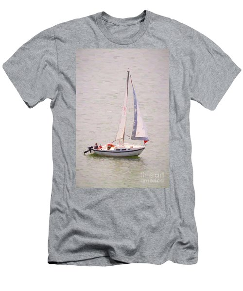 Men's T-Shirt (Athletic Fit) featuring the photograph Afternoon Sail by James BO Insogna