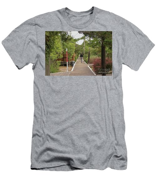 Afternoon Stroll Men's T-Shirt (Athletic Fit)