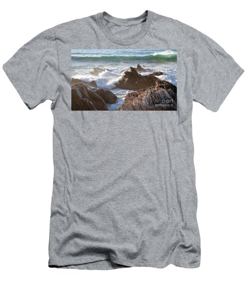 Afternoon Sun At Montana De Oro Men's T-Shirt (Athletic Fit)