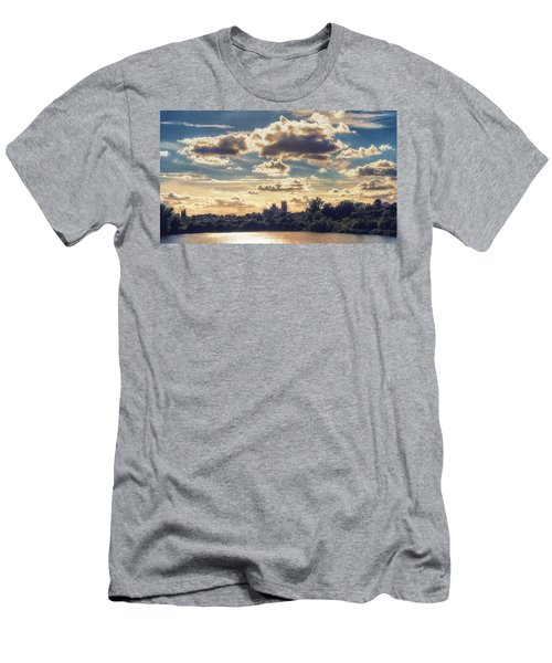 Afternoon Sun Men's T-Shirt (Athletic Fit)