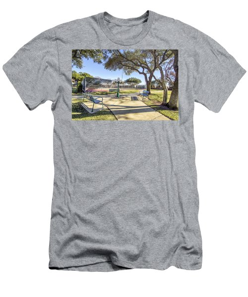 Afternoon Tennis Men's T-Shirt (Slim Fit) by Ricky Dean