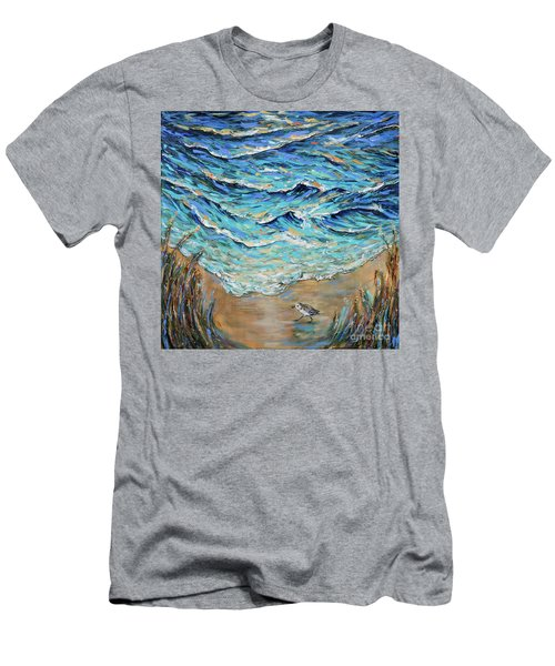 Afternoon Tide Men's T-Shirt (Athletic Fit)