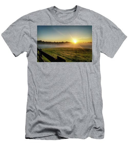 Afton Va Sunrise Men's T-Shirt (Athletic Fit)