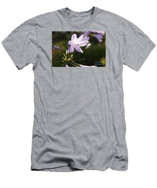 Agapanthus Men's T-Shirt (Slim Fit) by Cassandra Buckley